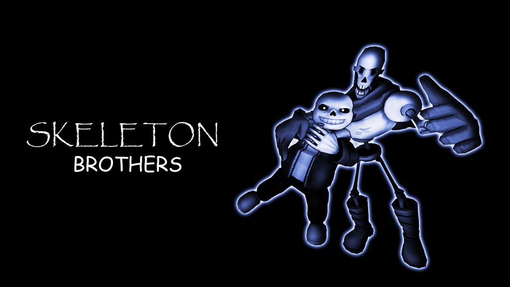 Skeleton brothers wallpaper [Undertale SFM] by LukasDeAudi