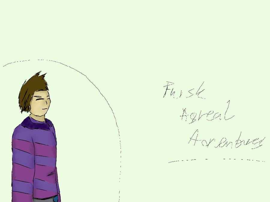 AsReal Adventure - Frisk by LukasDeAudi