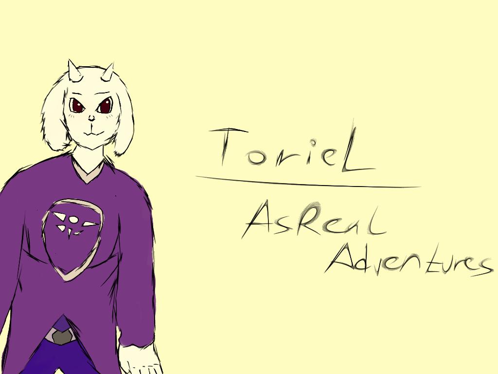 Toriel Character _ AsReal Adventures by LukasDeAudi