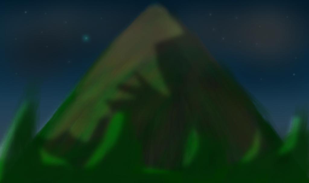 Mount Ebott by LukasDeAudi