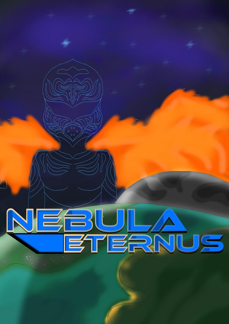 Nebula Eternus book cover by LukasDeAudi