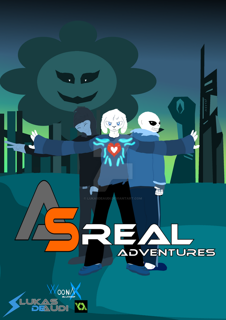 AsReal Adventures Project Cover by LukasDeAudi