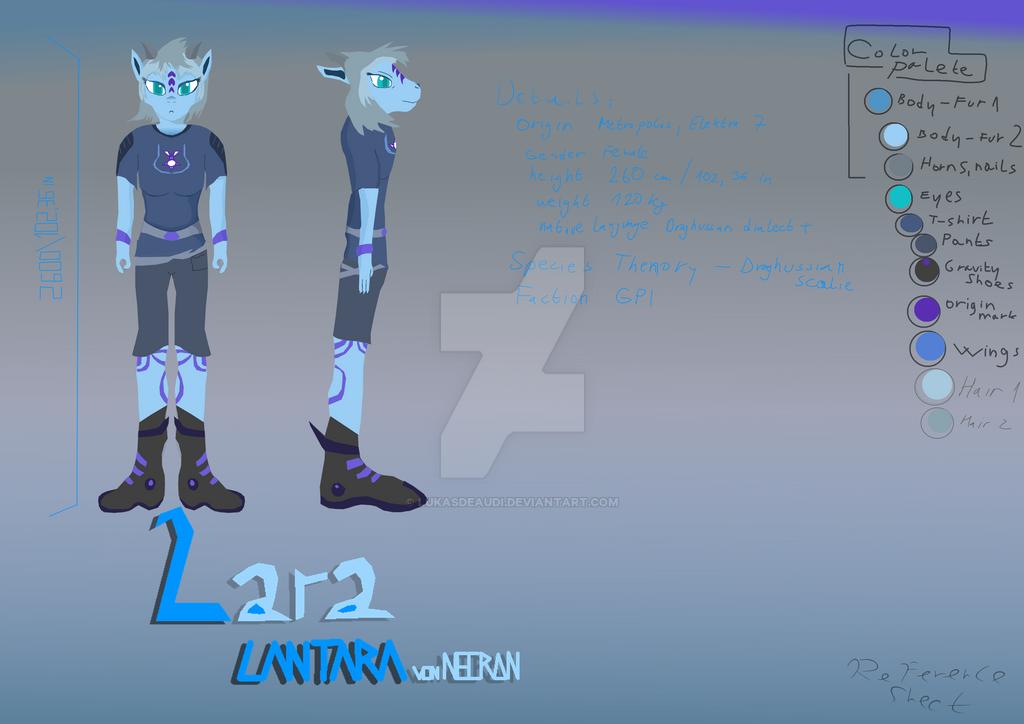 Lara Lanthara von Necran Reference sheet by LukasDeAudi