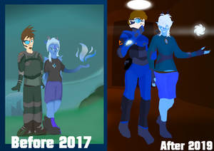 Two years later, still together