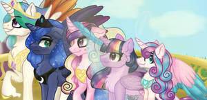 The Five Sovereigns of Equestria