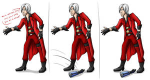 Nero give me a hand - Dante by Benzyon