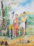 Sri Sri Sita Ram Lakshman by vinketa