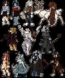 'Souls Art Compilation by ninaliz