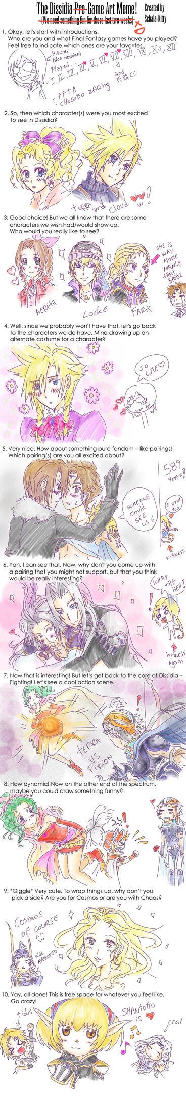 Meme Final Fantasy Dissidia by Honoka