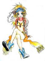 Rikku by Honoka