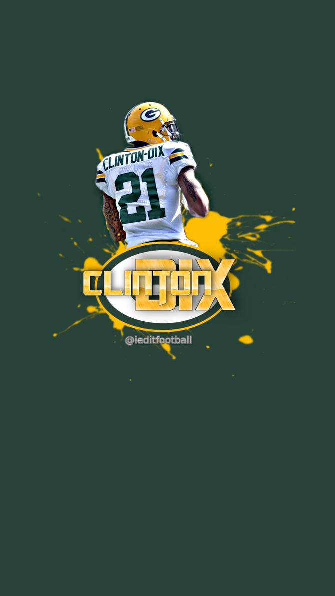 packers haha clinton dix iphone android wallpaper by