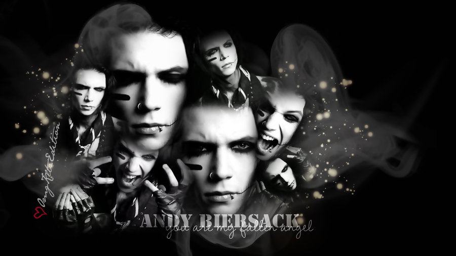 Andy Biersack Wallpaper By Omgkltzedition-d4 by AndiSixxx ...