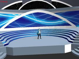 American Idol Stage by RollieRyttle