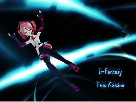 I - Fantasy Teto Kasane by RollieRyttle