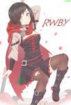 RWBY Fanart: Ruby Rose by AceOfBros
