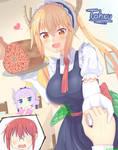 Miss Kobayashis Dragon Maid Fan Art: Tohru