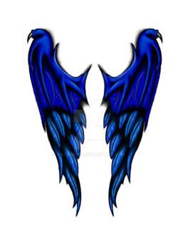 Demon Angel Wings - Tattoo