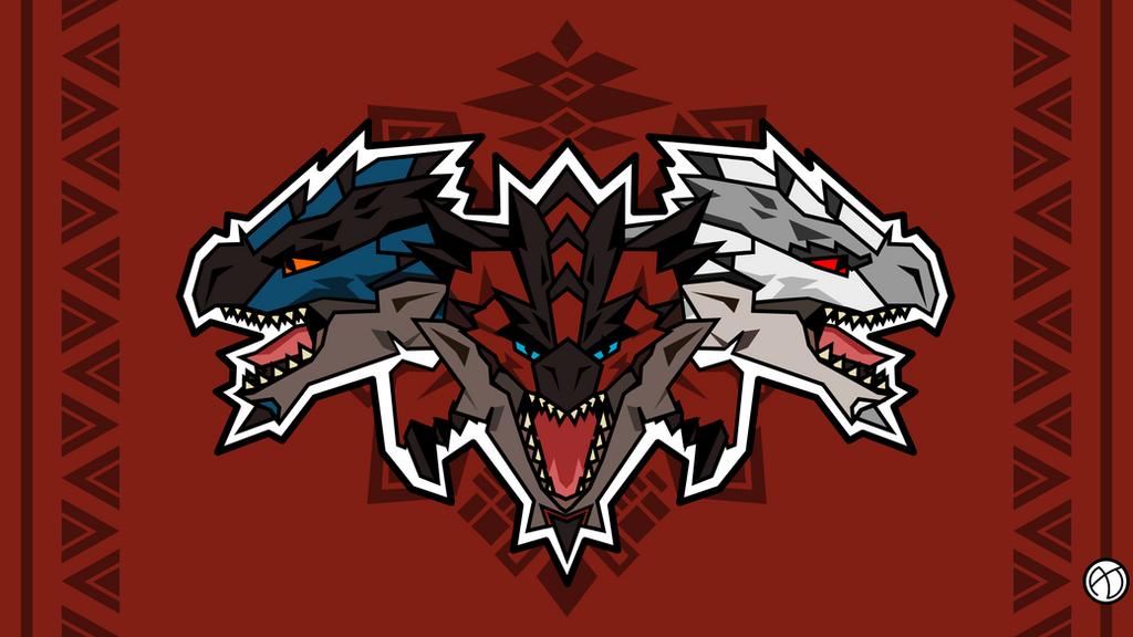 rathalos family monster hunter by nataristoneug on