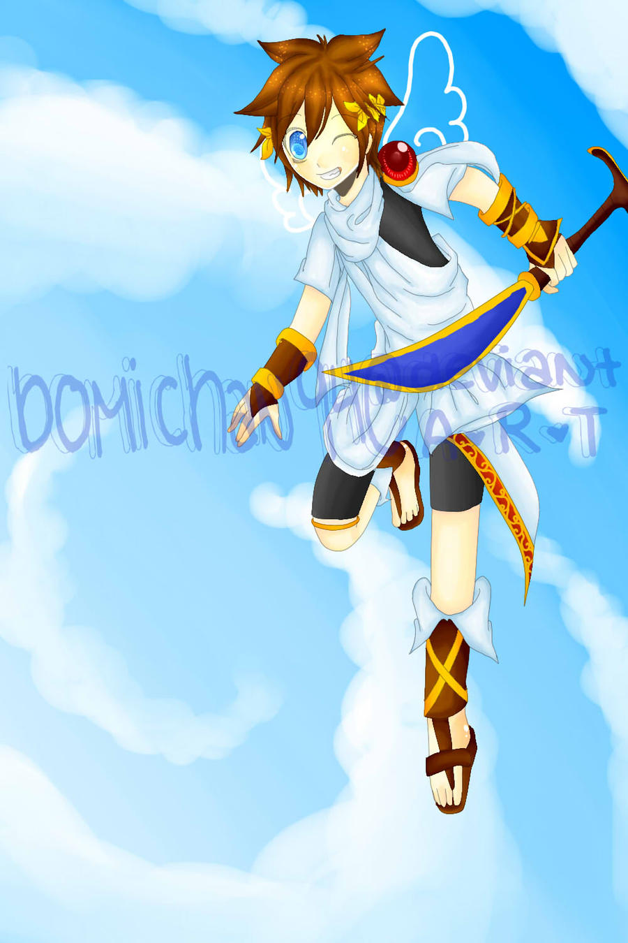 Kid Icarus Pit By BomiChan94 On DeviantArt