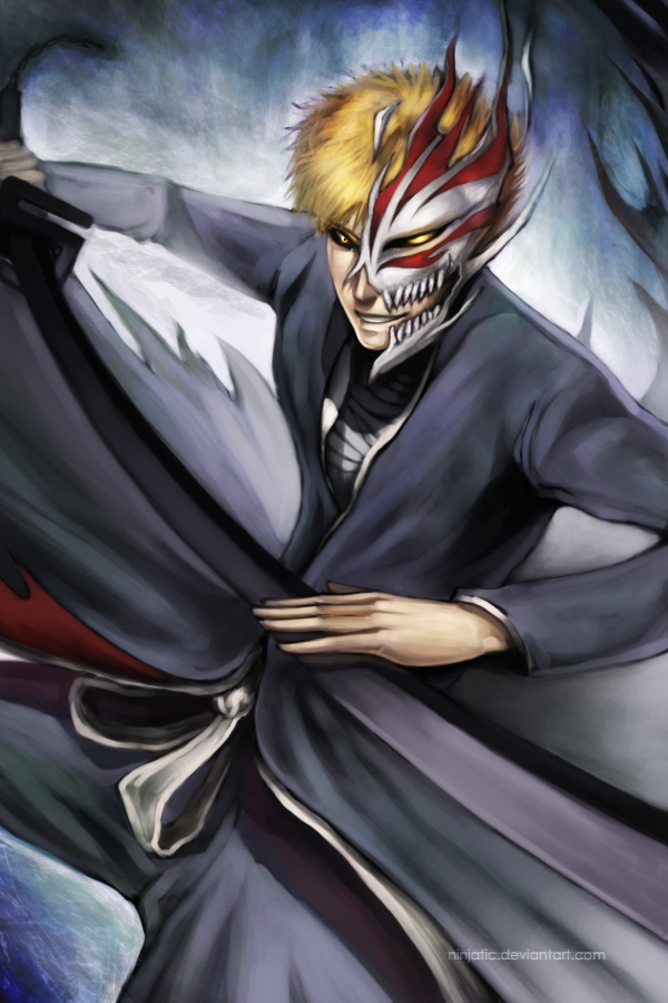 Bankai Ichigo By Ninjatic On Deviantart