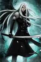 FF7 - Sephiroth by Ninjatic