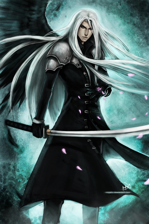 ff7 sephiroth by ninjatic on deviantart