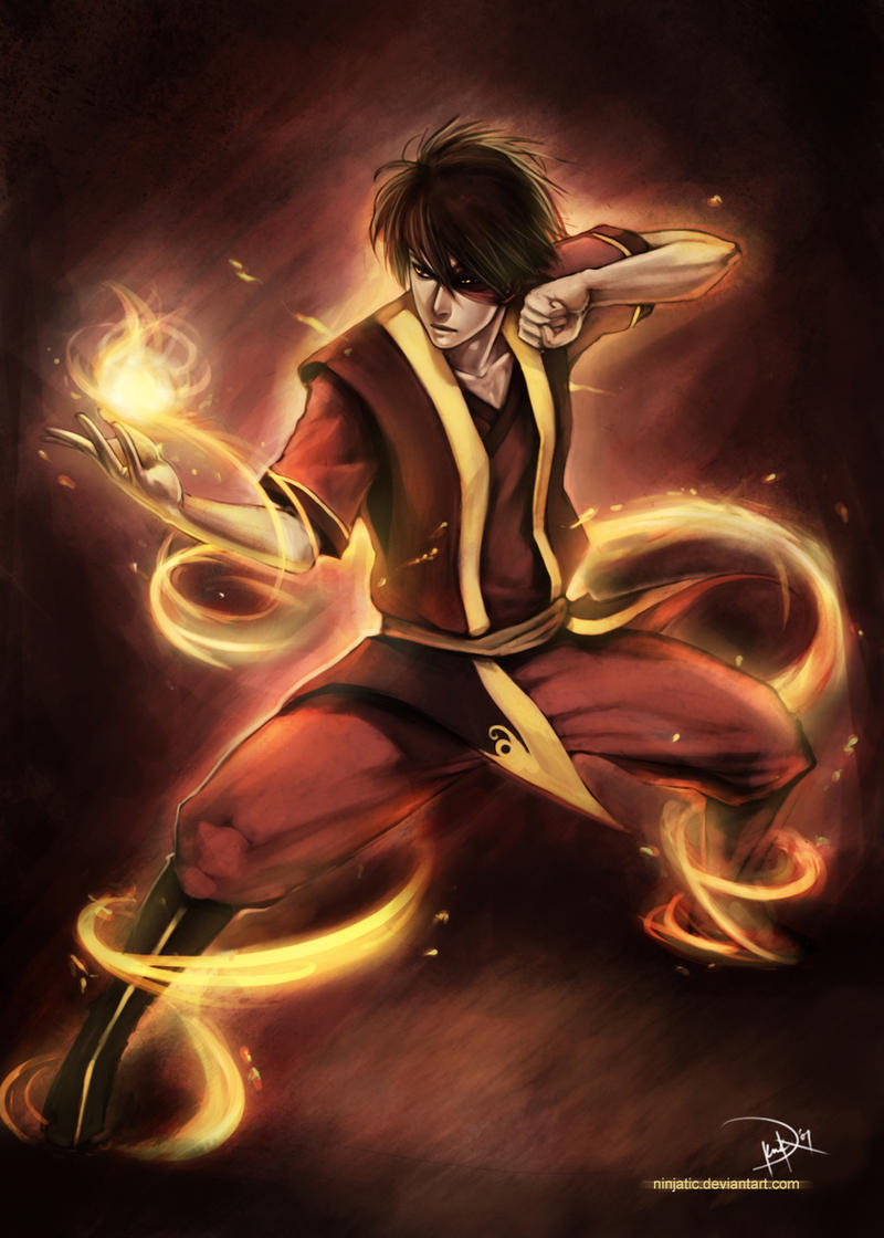 Prince Zuko by NinjaticZuko Fan Art