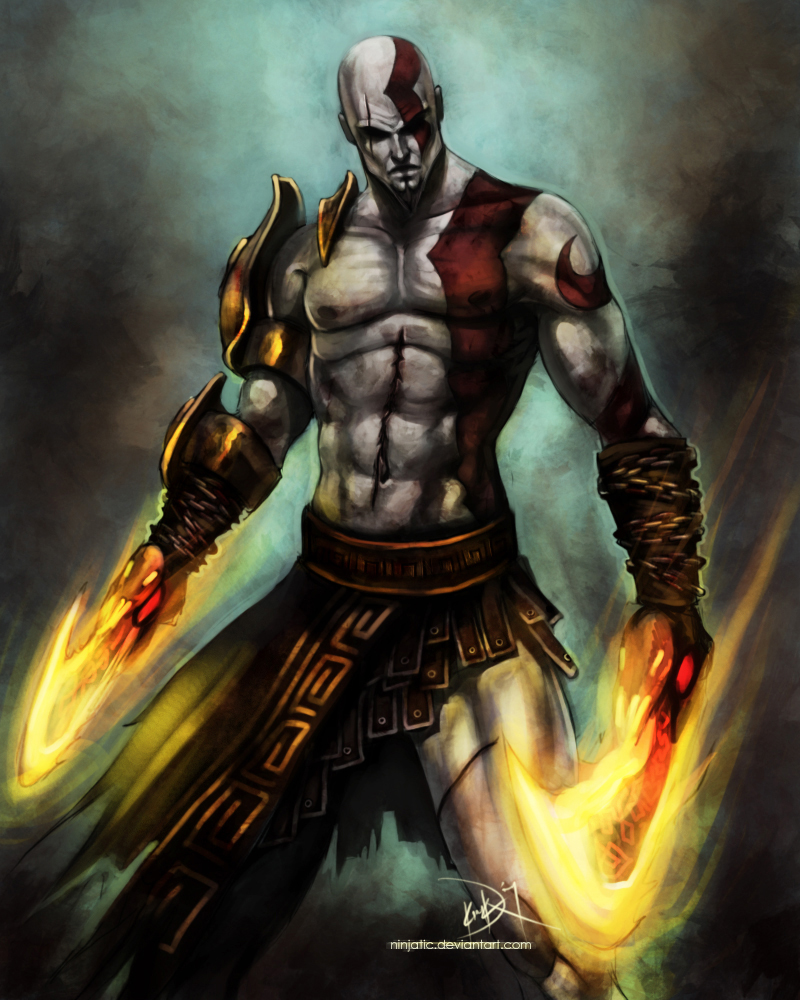 Kratos - God Of War by Ninjatic