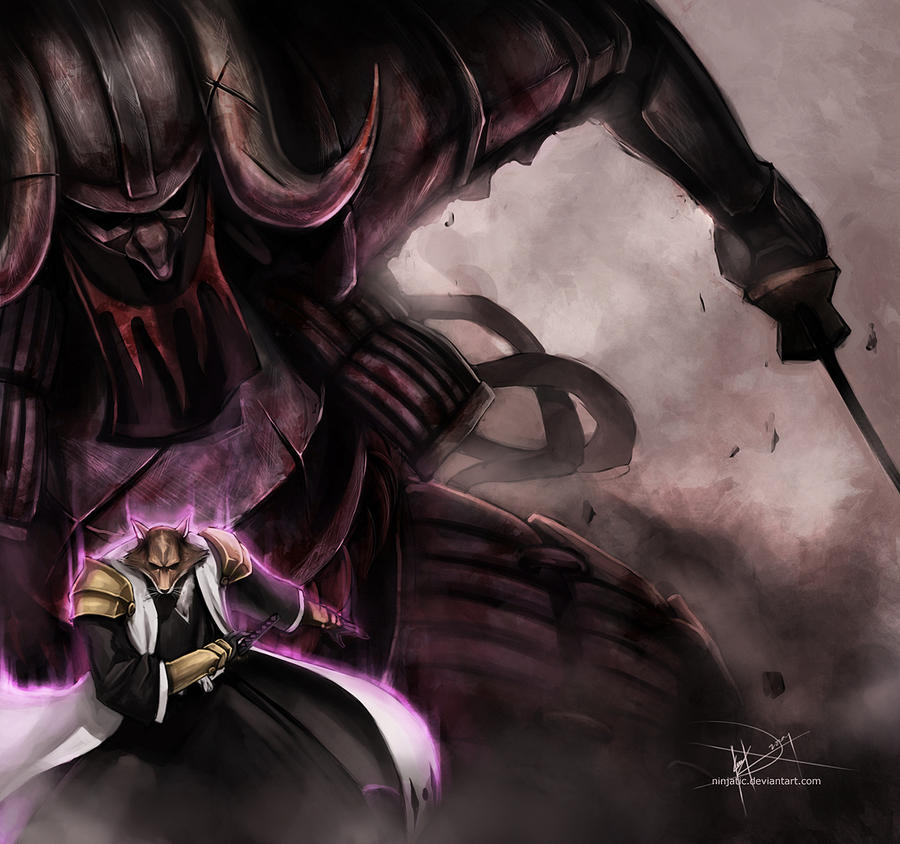 Sajin Komamura Bankai By Ninjatic On Deviantart