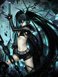 Black Rock Shooter by Ninjatic