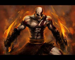Kratos vs... by Ninjatic