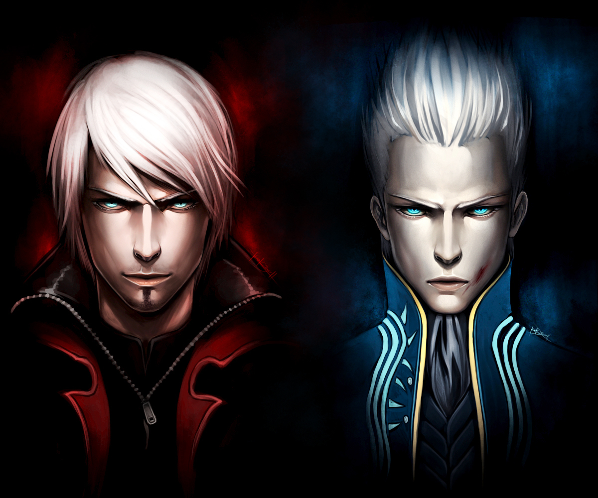 Excellent Devil May Cry Fan Art Of The Two...