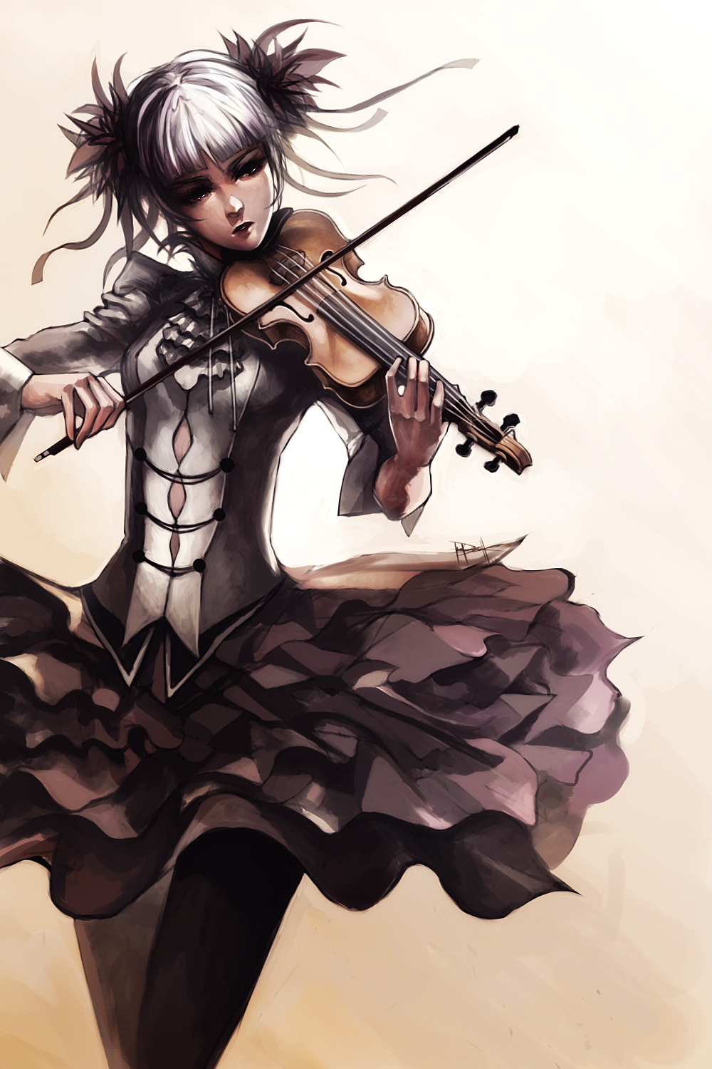 Violin Girl by Ninjatic