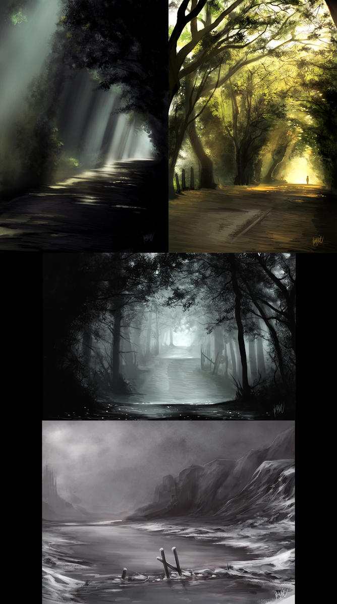 BG Studies by Ninjatic