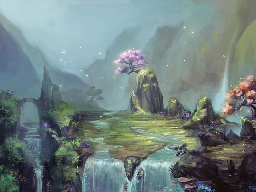 Holy Glade by Ninjatic