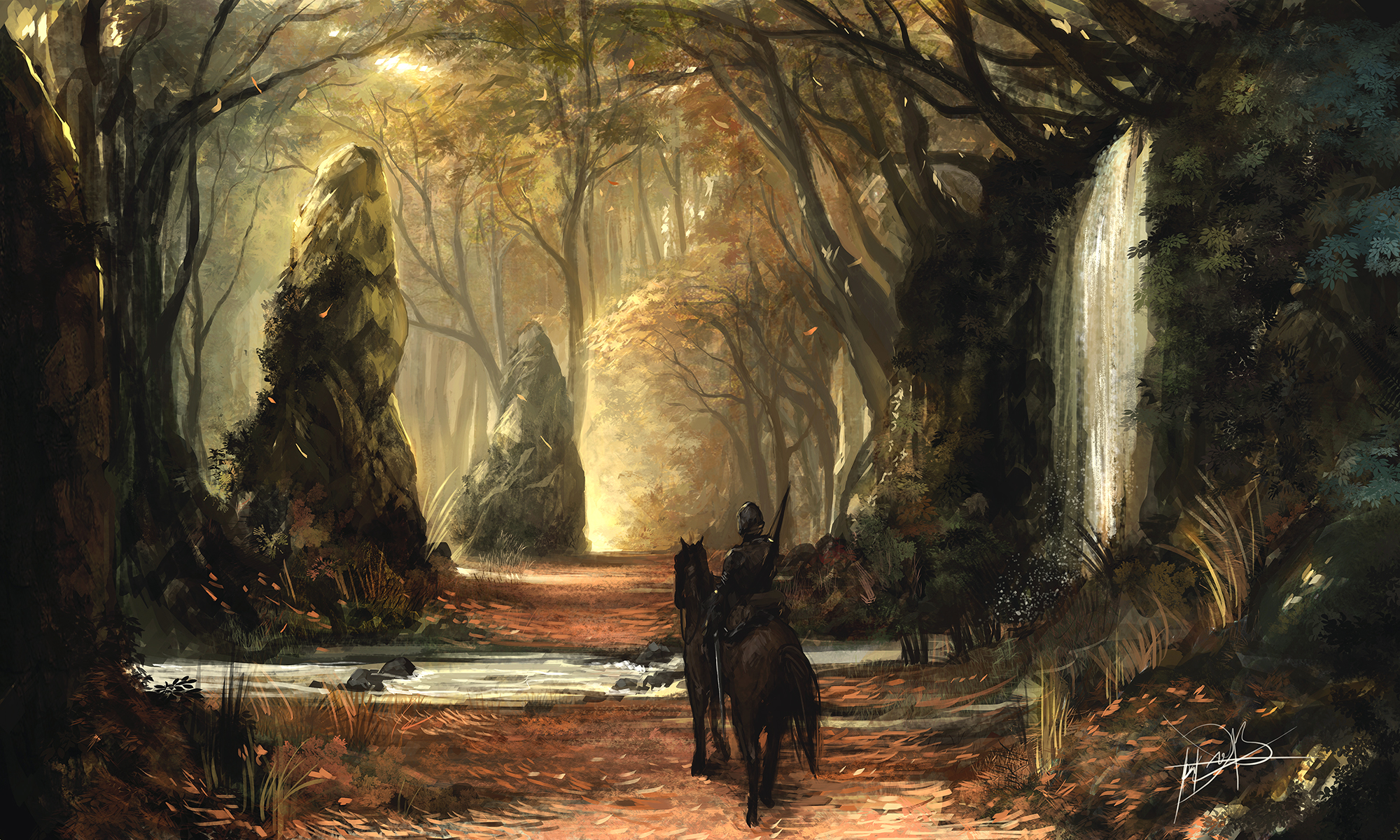 Golden Path by Ninjatic