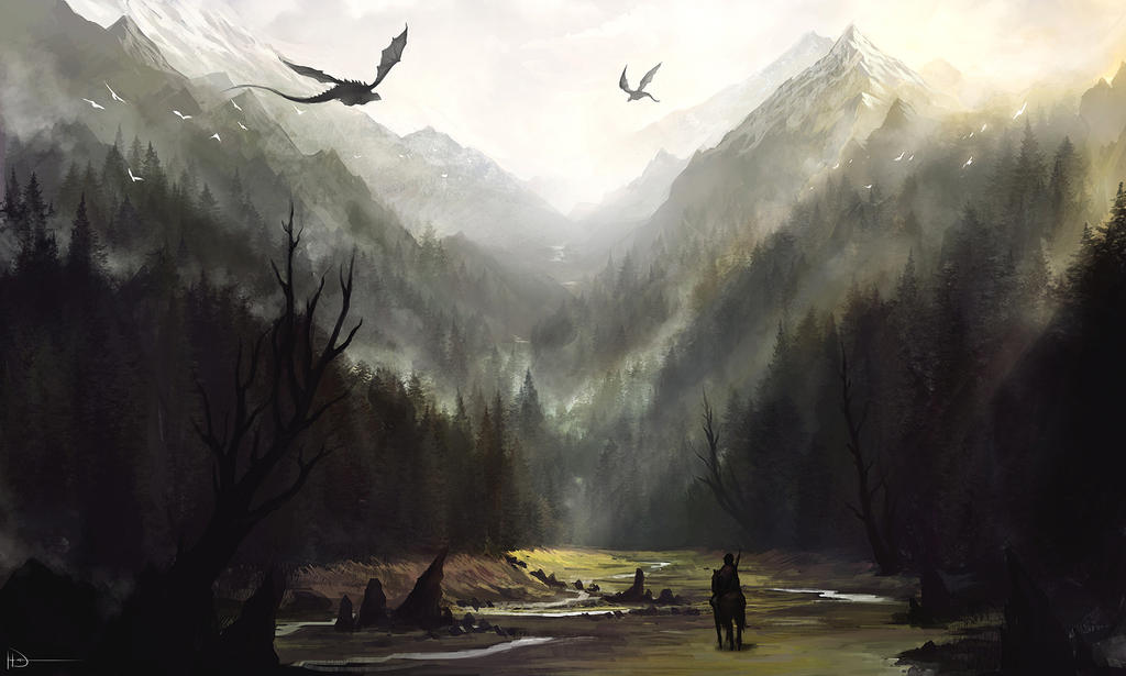 Misty Mountains by Ninjatic