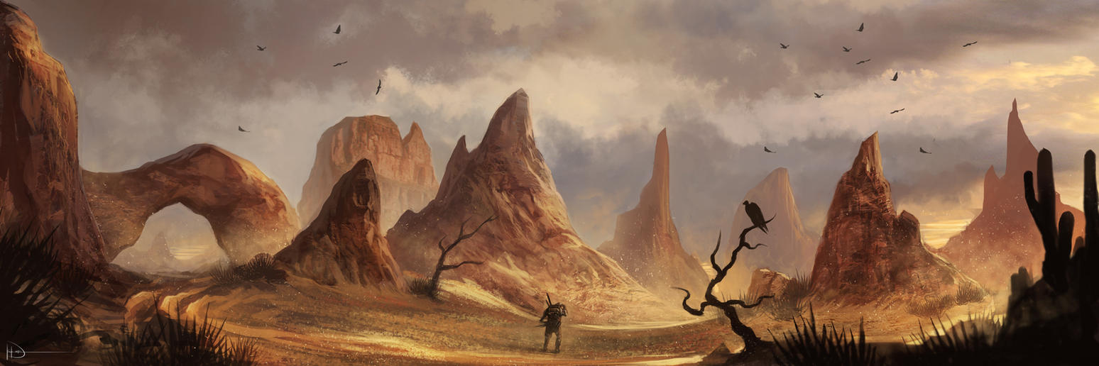 Valley Of A Thousand Suns by Ninjatic