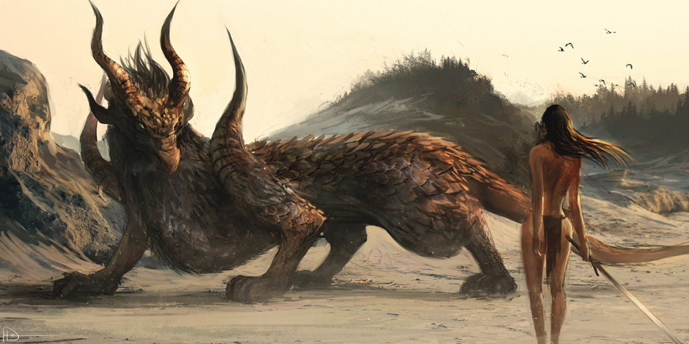 The Wingless Dragon by Ninjatic