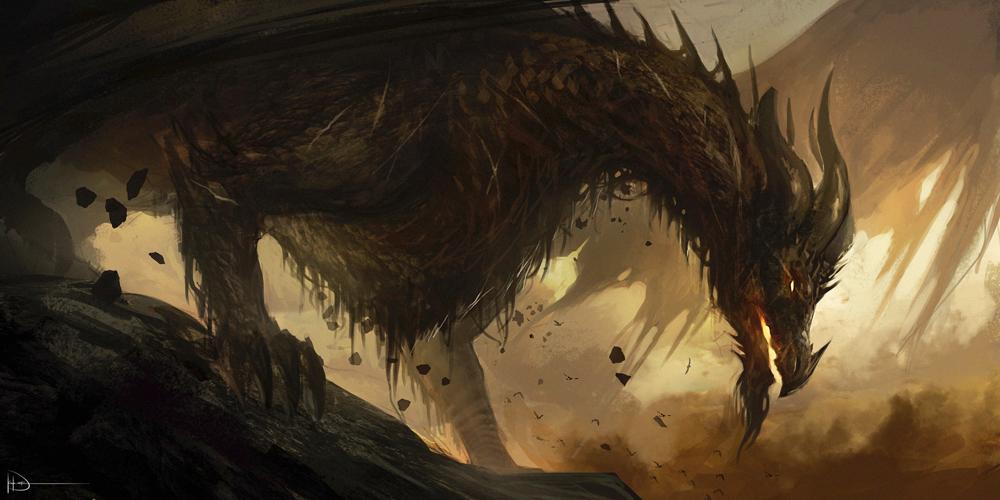 Forgotten Dragon by Ninjatic