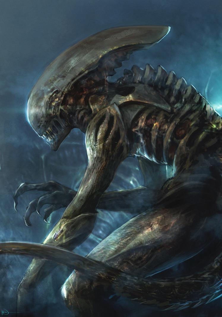 Alien by Ninjatic on DeviantArt