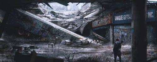 Winter Station by Ninjatic