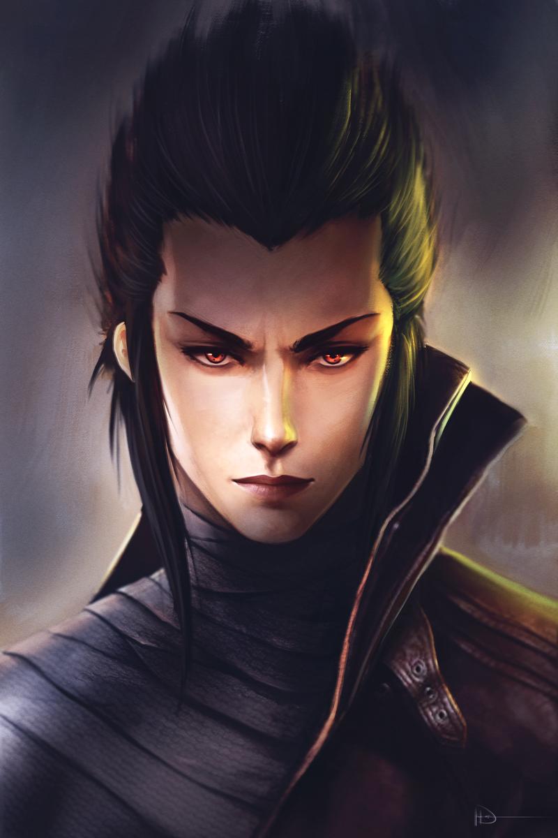 character portrait by ninjatic on deviantart