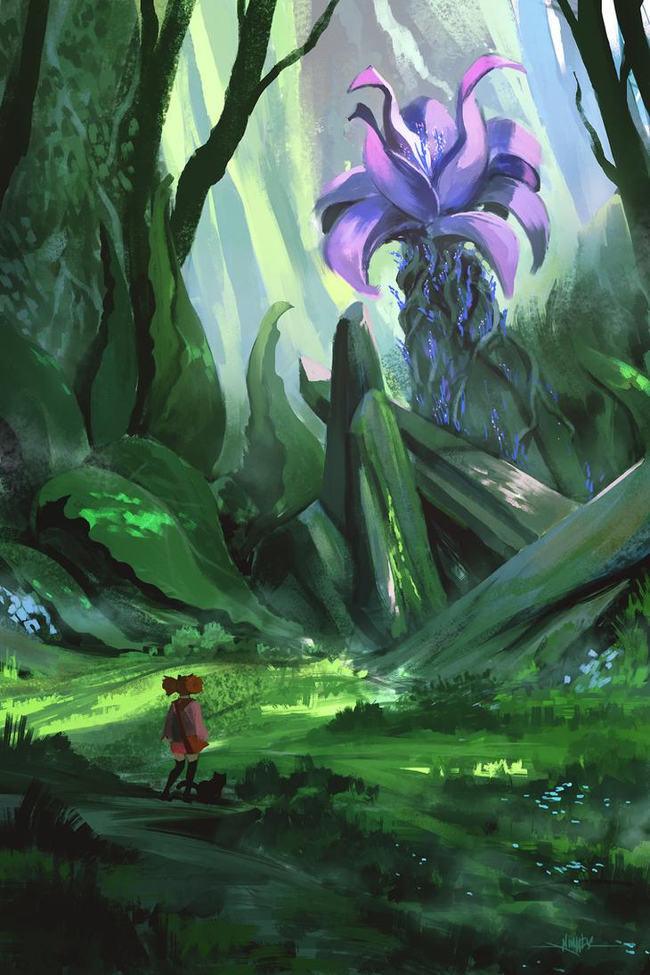 Witch's Flower by Ninjatic