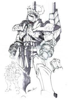 Tartarus Prison Guard In Riot Armour