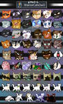[FTU] Warrior Cat Discord/Telegram Emojis