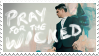 Pray for the Wicked Stamp by BluSilurus