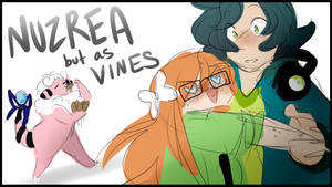 Nuzrea but as Vines [Gift Part] by BluSilurus