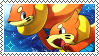 Buizel Stamp 2 by BluSilurus
