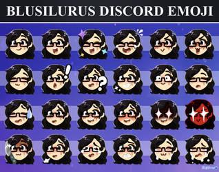 BluSilurus Discord Emojis by BluSilurus